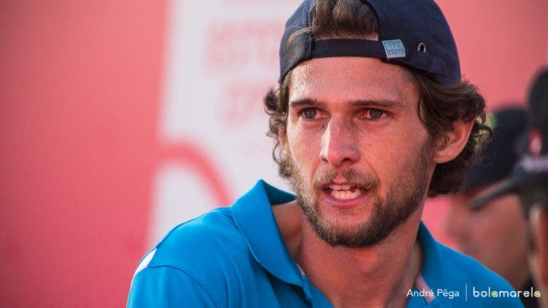 Pedro Sousa com adversário difícil na primeira ronda do Challenger de Blois