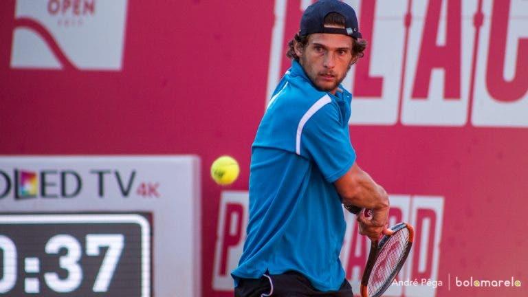 Lisboa Belém Open. Pedro Sousa recupera de grande desvantagem e está nos quartos-de-final do Challenger de Belém