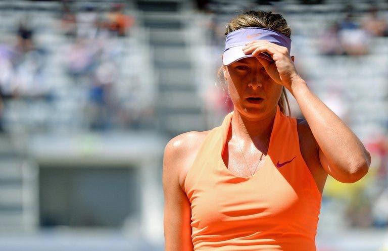 Maria Sharapova não deverá jogar Birmingham devido a lesão