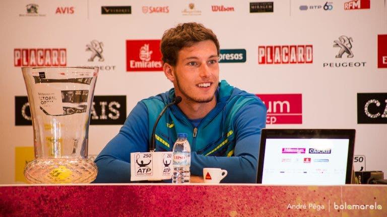 Carreno-Busta: «Queria levantar o troféu e poder fazê-lo é especial»