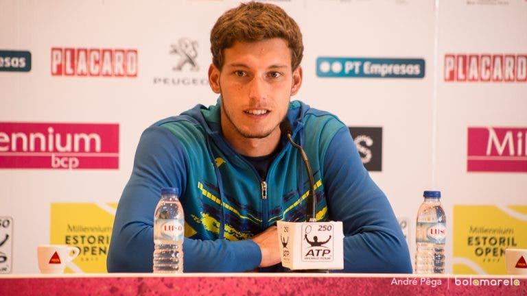 Pablo Carreño: «Vim do Estoril e não pude treinar em Madrid. Isso custou-me a derrota»