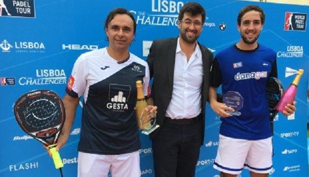 Lisboa Challenger. Godo Díaz e Luciano Capra conquistam título e festejam-no… no Marquês