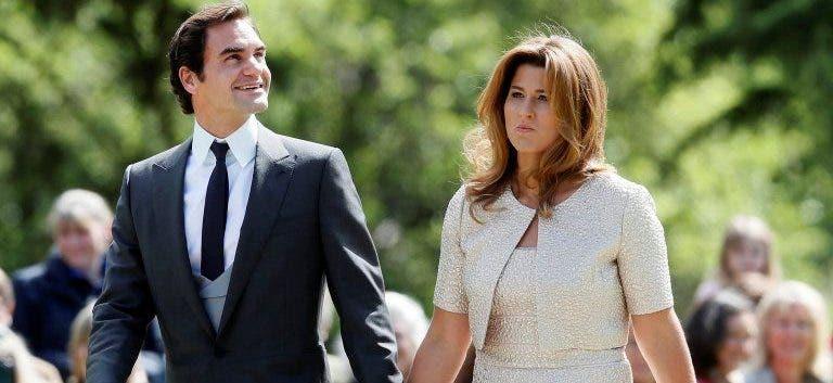 [Fotos] Federer e Mirka entre os convidados de Pippa Middleton