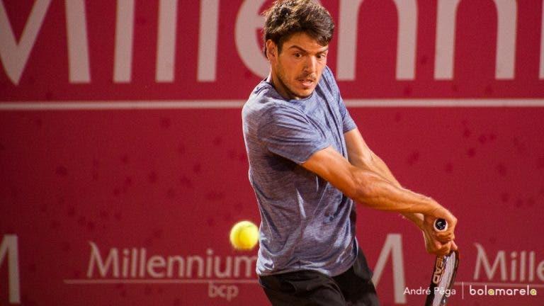 Lisboa Belém Open. João Domingues travado na segunda ronda do Challenger de Belém