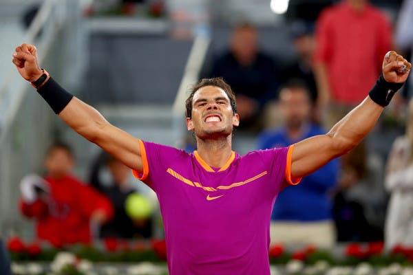 Revelados mais quatro tenistas para o Madrid Open virtual, com Nadal incluído