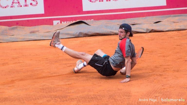 Pedro Sousa surpreendido em 64 minutos na primeira ronda do 'challenger' de Barletta
