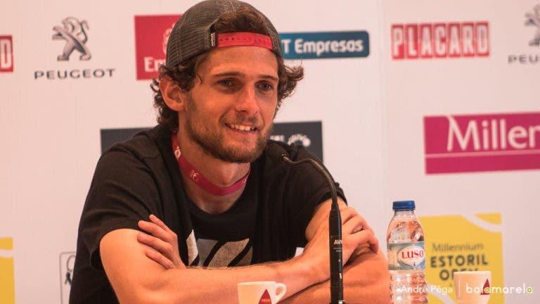 Pedro Sousa: «Maior do que isto só um ATP. É um Challenger dos grandes!»