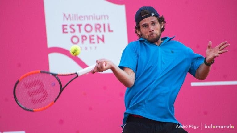 Pedro Sousa eliminado nos quartos-de-final do Lisboa Belém Open