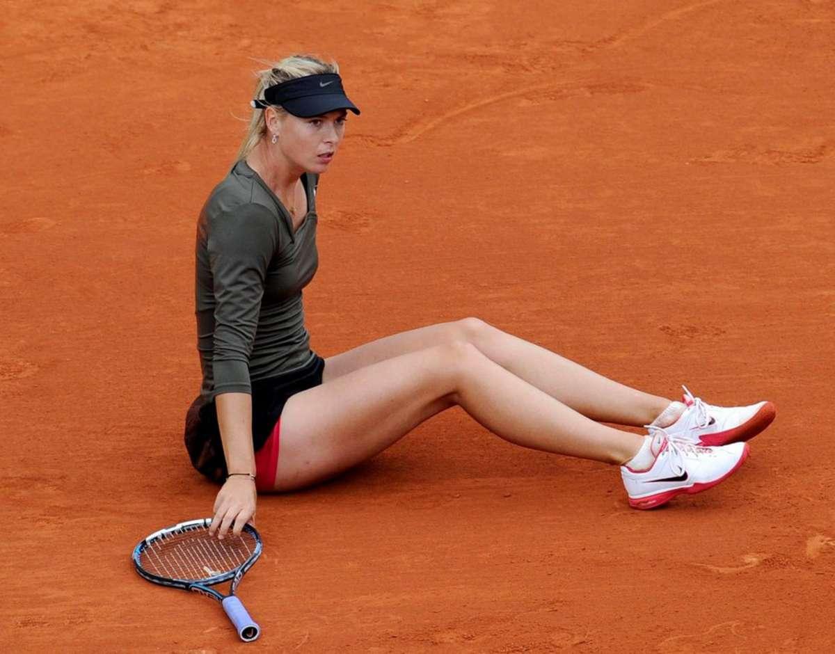 Diretor de Roland Garros diz que Sharapova é honesta mas concorda em não dar-lhe um wild card
