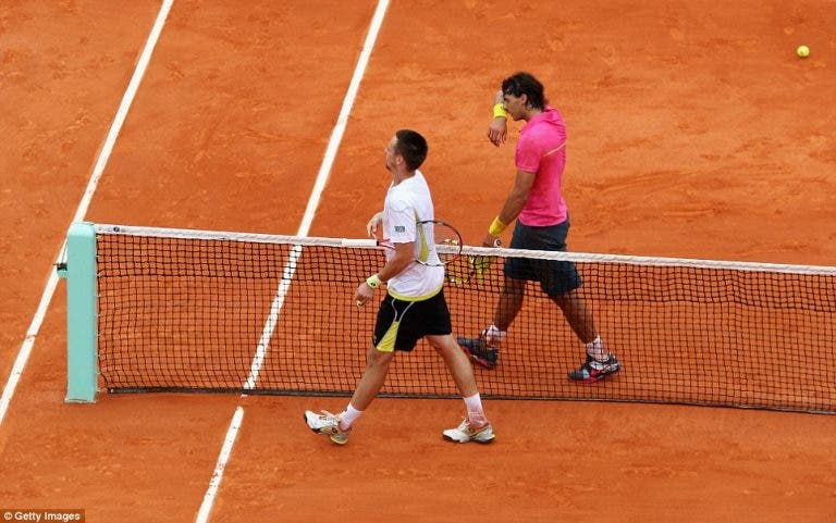 Soderling, o primeiro homem a bater Nadal em Roland Garros: «Só um jogador pode fazê-lo este ano»