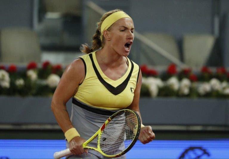 Svetlana Kuznetsova acaba com semana de sonho de Eugenie Bouchard