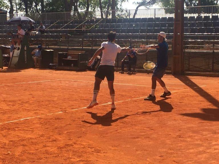 FINAL! Oliveira e Gil alinham RECUPERAÇÃO e estão na final de pares do Lisboa Belém Open