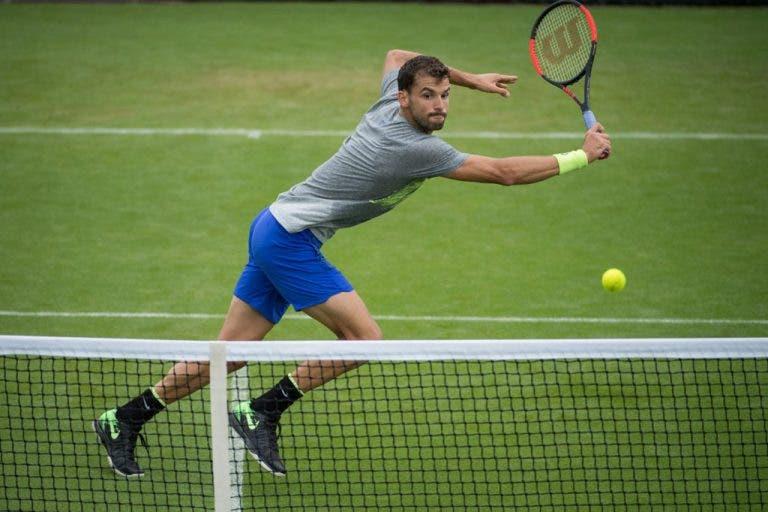 Depois de Roland Garros, Dimitrov desiste do primeiro torneio de preparação para Wimbledon