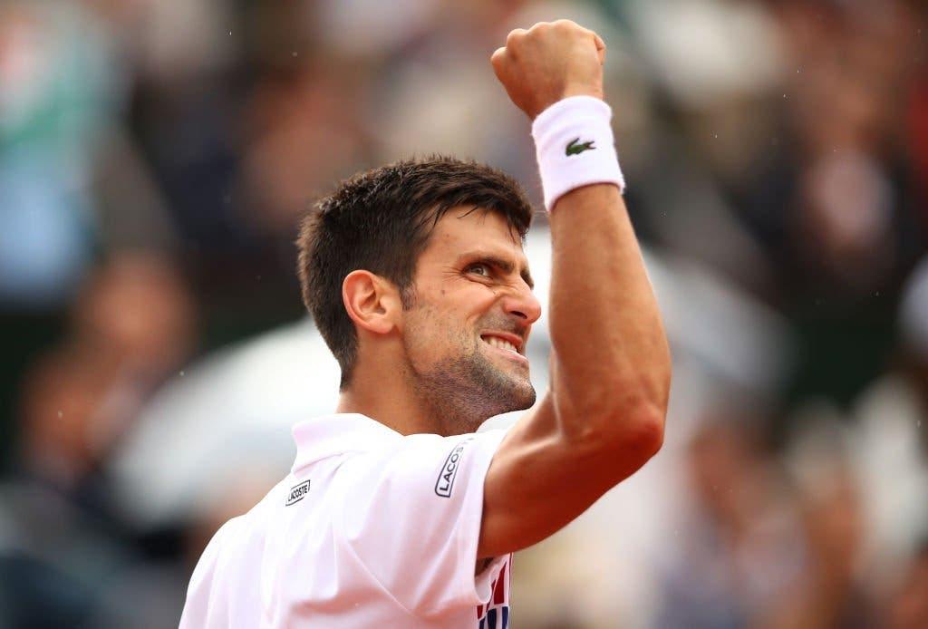 Djokovic reage a tempo de vencer o pequeno-gigante Schwartzman