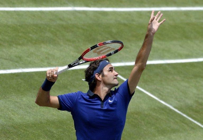 [Vídeos] Roger Federer está de volta… e em grande