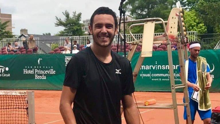 Gonçalo Oliveira defronta finalista de Roland Garros já esta segunda-feira