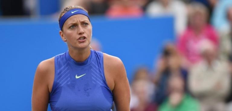 Seis meses depois de ser esfaqueada em sua casa, Kvitova está de volta… às FINAIS!
