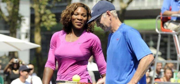 McEnroe recusou um milhão para defrontar Serena ou Venus