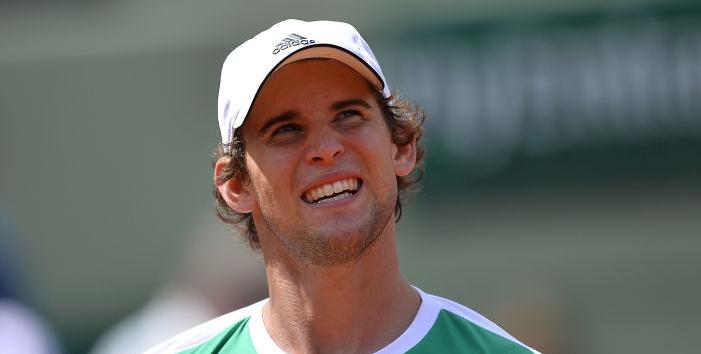 Thiem: «Eu perco horas a ver encontros do Federer no YouTube. Sim, eu adoro mesmo o ténis!»
