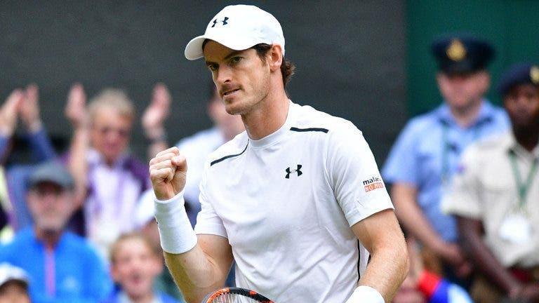 Murray: «Não apostava em mim para vencer Wimbledon em 2020»