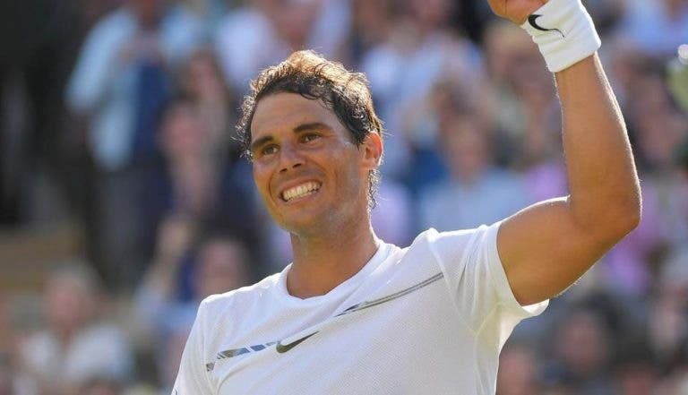 Nadal inicia preparação para Wimbledon esta segunda-feira… no palco do torneio feminino em Maiorca