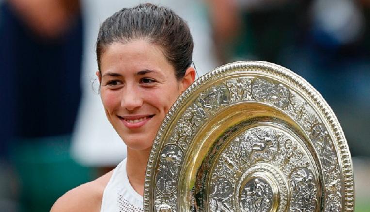 Garbiñe Muguruza, a nova rainha da relva de Wimbledon