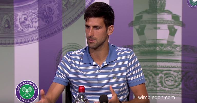 Djokovic: «Houve uma altura em que a minha felicidade dependia do ténis. Já não sou assim!»