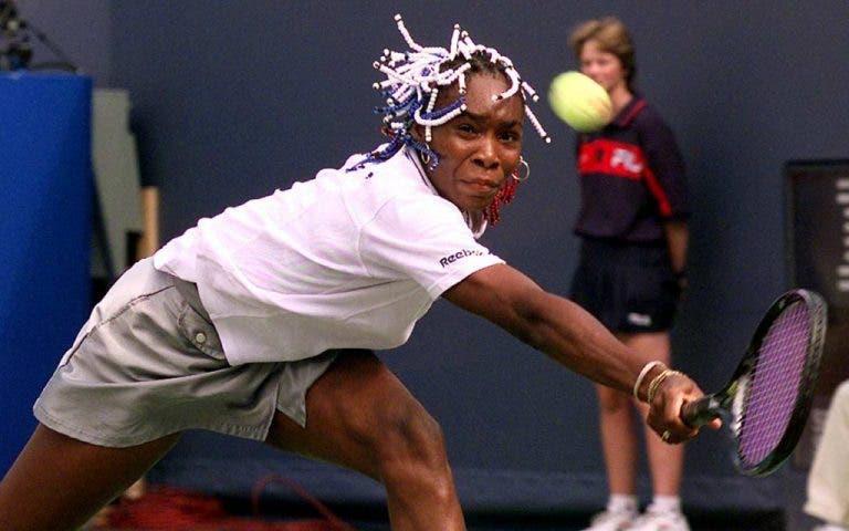 Venus Williams só perdeu uma final de Grand Slam na vida sem ser contra a sua irmã. E foi há 20 anos