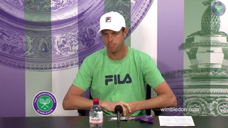 Sam Querrey após  a vitória sobre Andy Murray: «Espero poder chegar ainda mais longe»
