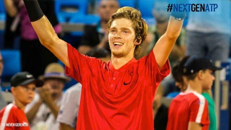 Andrey Rublev, 19 anos, atinge a primeira final ATP… como lucky loser