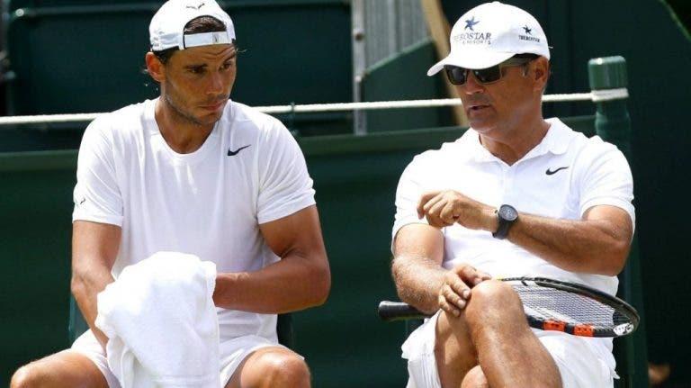 Toni Nadal arrasa Wimbledon: «Acham-se especiais e desrespeitam ATP»