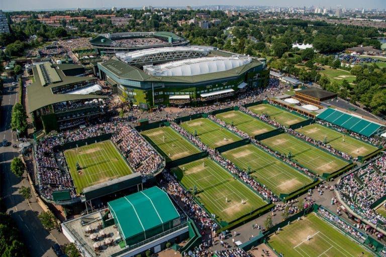 Wimbledon compra terrenos e terá o triplo da área a partir de 2022