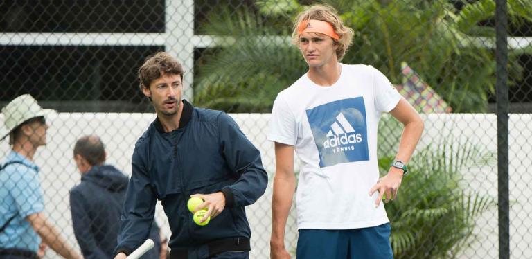 Juan Carlos Ferrero está muito surpreendido com Sascha Zverev após duas semanas de trabalho