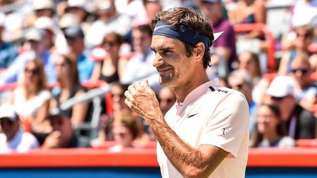 Federer alcança a sua 16ª vitória consecutiva e está na final do ATP 1000 de Montreal