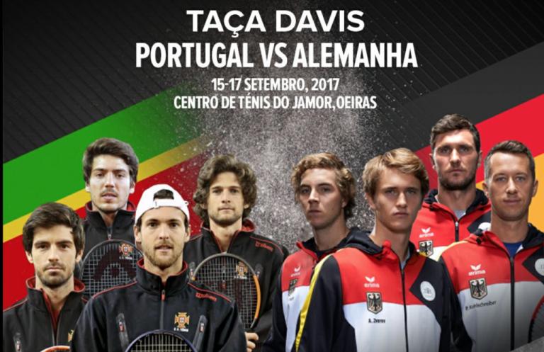 Taça Davis. Preços dos bilhetes para o Portugal-Alemanha já são conhecidos