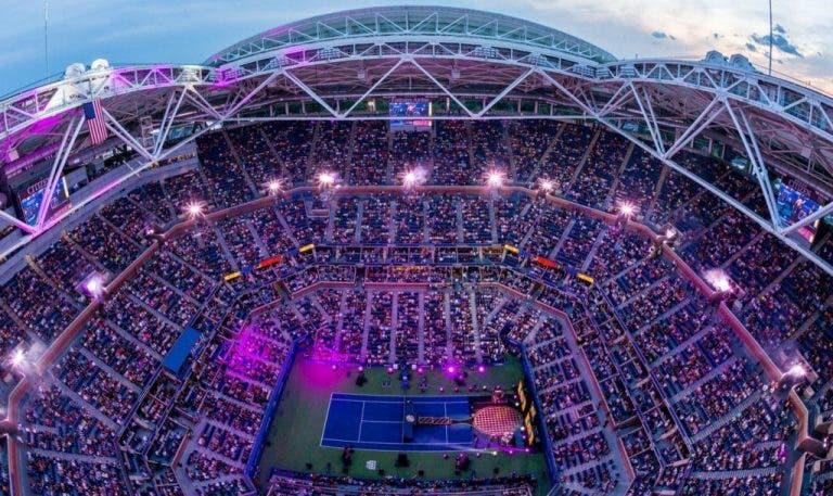 Eis a ordem de jogos para o arranque do US Open: Sharapova-Serena é o grande destaque