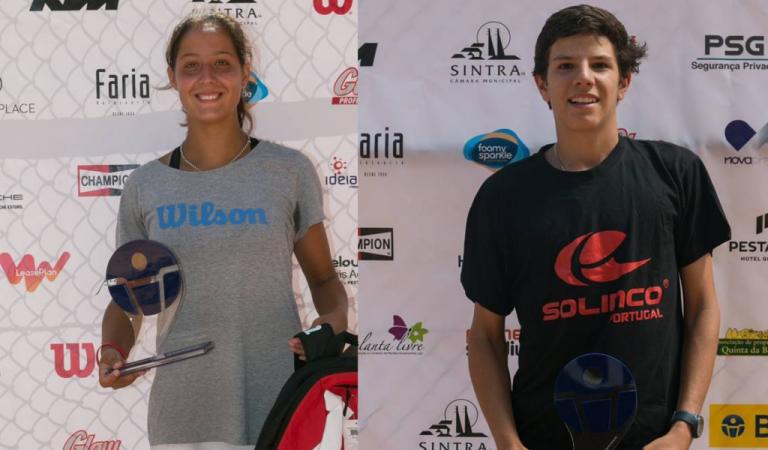 Maria Inês Fonte e André Rodeia conquistam o BANC Beloura Junior Open 2017
