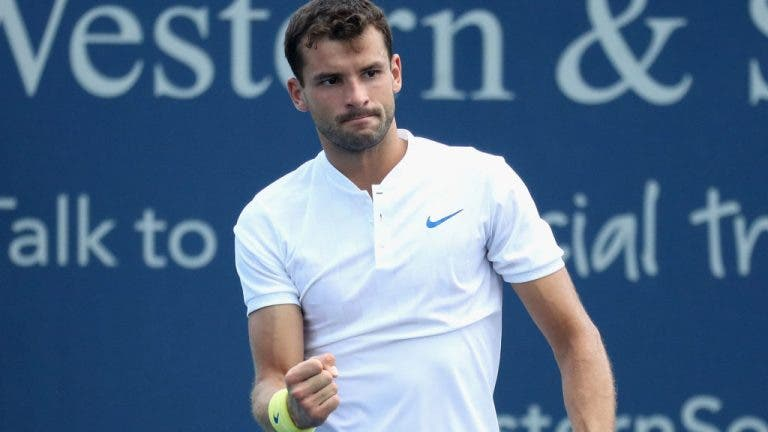 Cincinnati: Milos Raonic fora, Grigor Dimitrov dentro