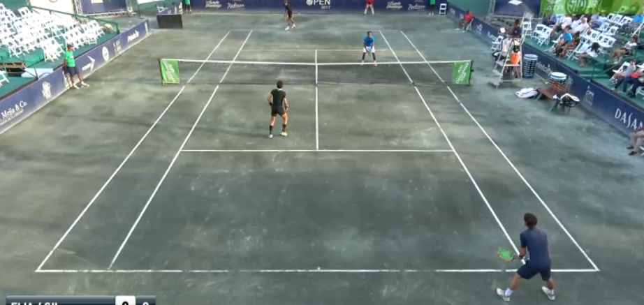 [VÍDEO] Santo Domingo. Gil/Elias vs. Hemery/Mina, em DIRETO