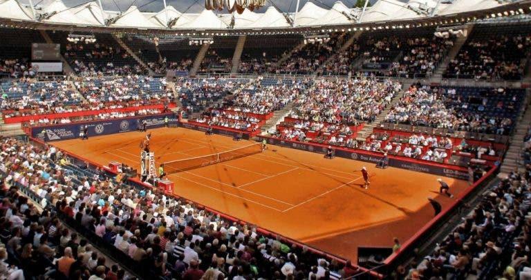 ATP 500 de Hamburgo vai ter público: 2300 pessoas por dia