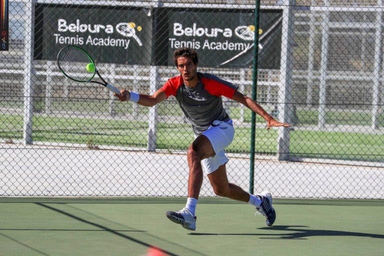 Monteiro e Cabral eliminados na primeira ronda do Challenger da Maia