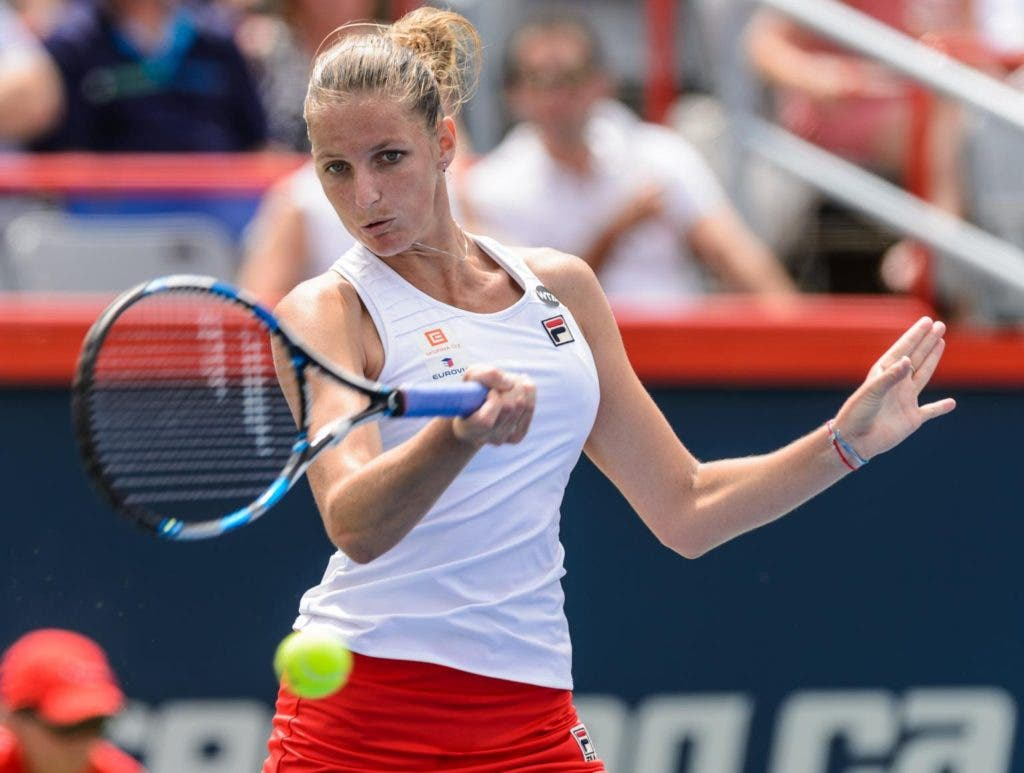 Karolina Pliskova: «Ainda não sei como gerir a pressão de ser número um»
