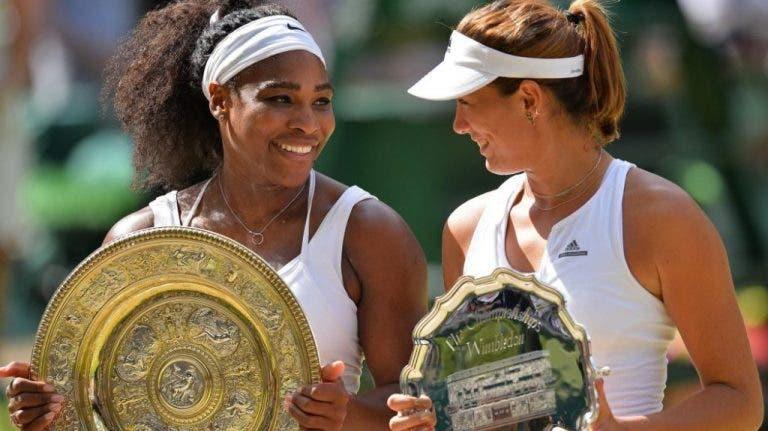 Garbine Muguruza: «A Serena é sempre uma ameaça»