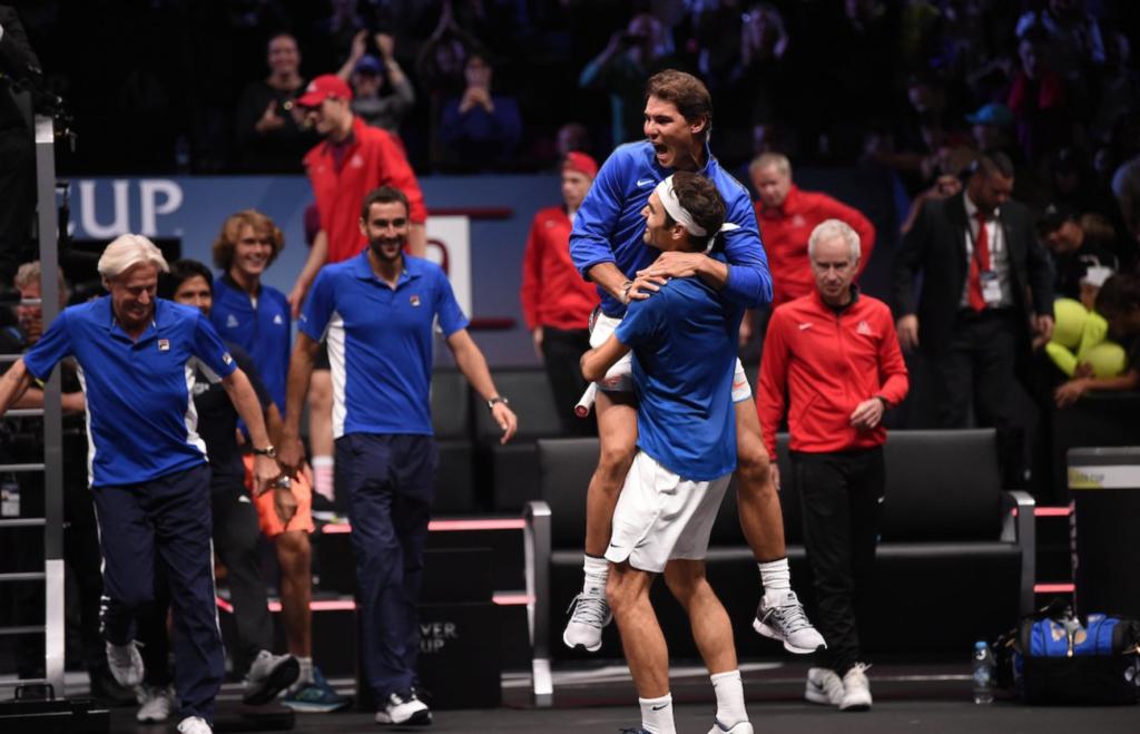 A CHEGAR ÀS BANCAS. Federer e Nadal dão argumento (real) para um livro já em 2018