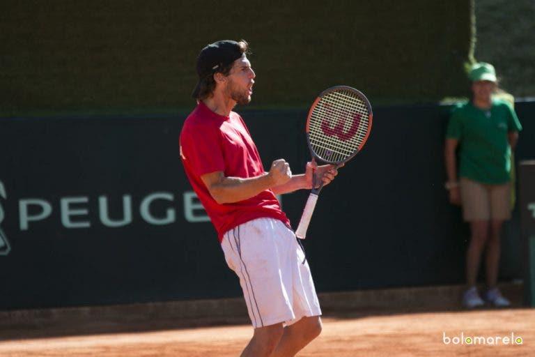 Pedro Sousa soma primeira vitória em torneios ATP fora de Portugal rumo aos 'oitavos' em Bastad