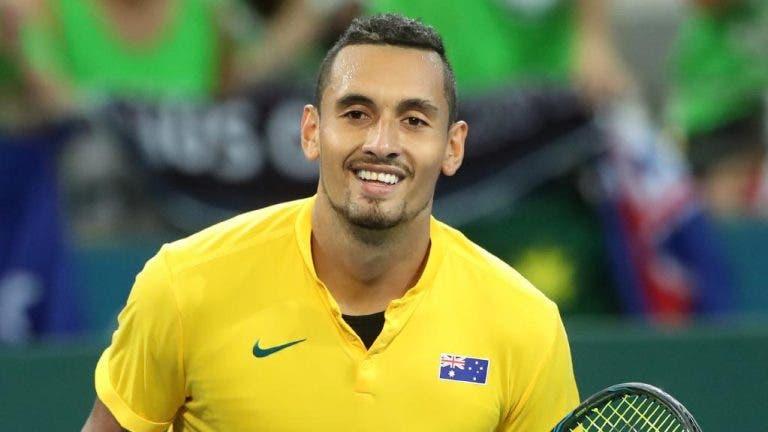 Meias-finais da Taça Davis: Sérvia sem estrelas, Austrália com Kyrgios