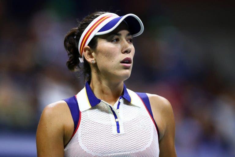 Garbiñe Muguruza é a número um com menos pontos da história do ténis