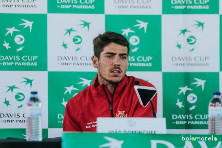 João Domingues: «Não estava à espera de jogar, pensava que íamos ganhar»
