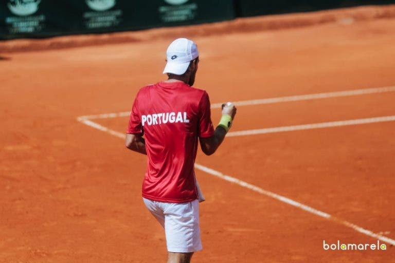 CONFIRMADO. Portugal é cabeça-de-série na Taça Davis em 2018 e fica a UMA VITÓRIA do Playoff