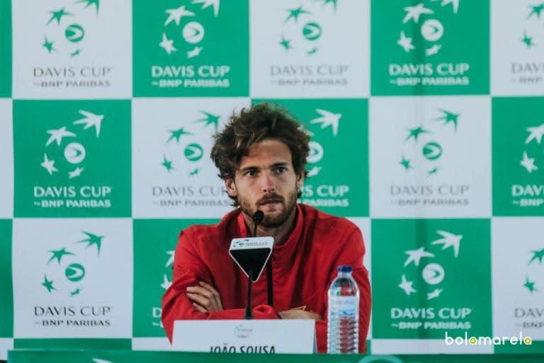 João Sousa gosta do novo formato da Davis mas diz que este não ajuda Portugal